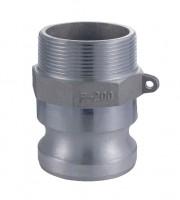 Aluminium Camlock Coupling Type F