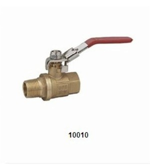 10010 BRASS BALL VALVE (LOCKING HANDLE)
