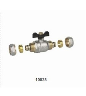 10028 BRASS BALL VALVE (MULTILAYER PIPE)