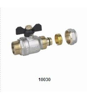 10030 BRASS BALL VALVE (MULTILAYER PIPE)