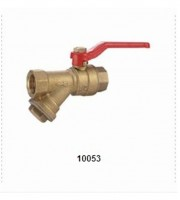 10053 BRASS BALL VALVE WITH FILTER