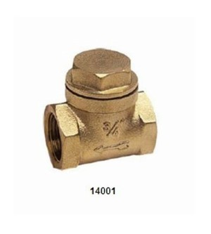 14001 BRASS SWING CHECK VALVE