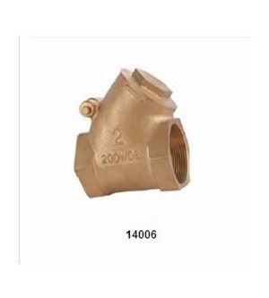 14006 Y BRONZE SWING CHECK VALVE