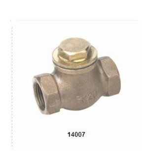14007 Bronze Lift Check Valve