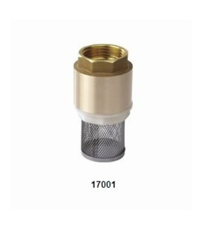 17001 BRASS FOOT VALVE