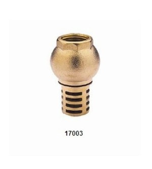 17003 BRASS FOOT VALVE