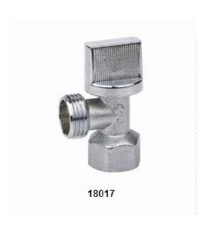 18017 Brass Angle Valve