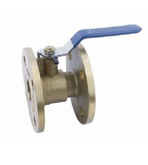 20001 BRASS FLANGE BALL VALVE
