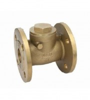 20006 BRASS FLANGE SWING CHECK VALVE