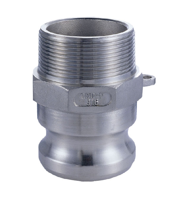 Stainless steel camlock fitting type f kg machinery