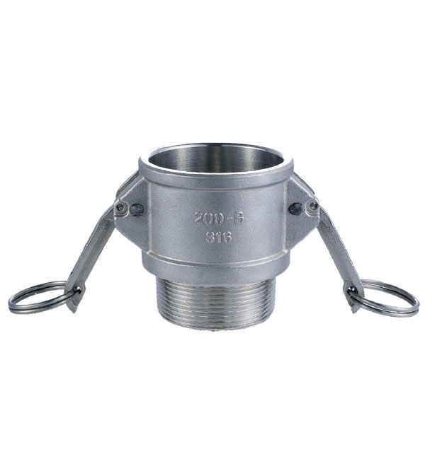 Stainless Steel Camlock Fitting Type B