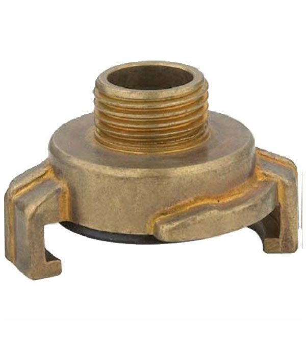 Geka coupling with male thread